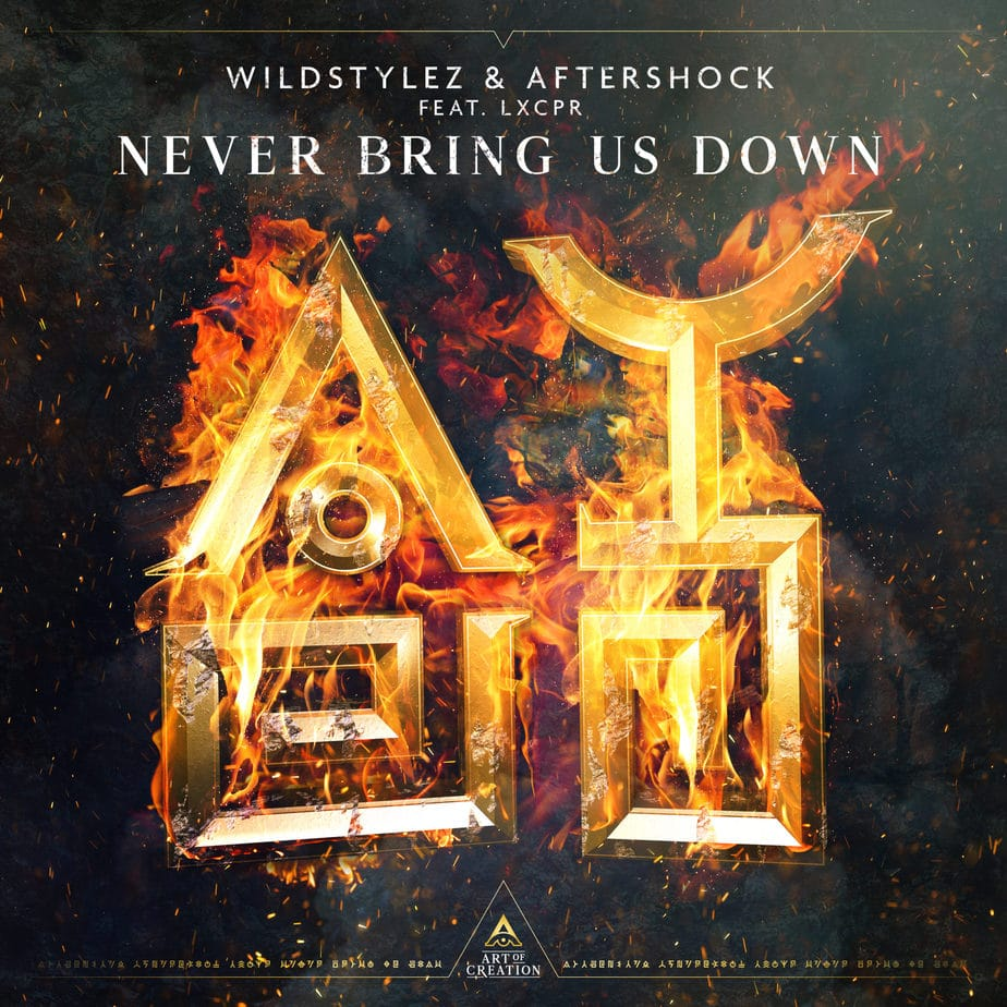 Wildstylez & Aftershock - Never Bring Us Down