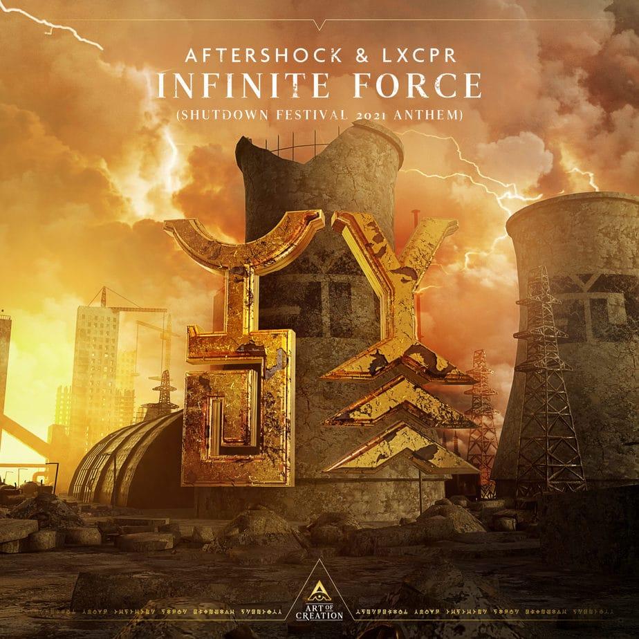 Aftershock - Infinite Force (Shutdown 2021 Anthem)